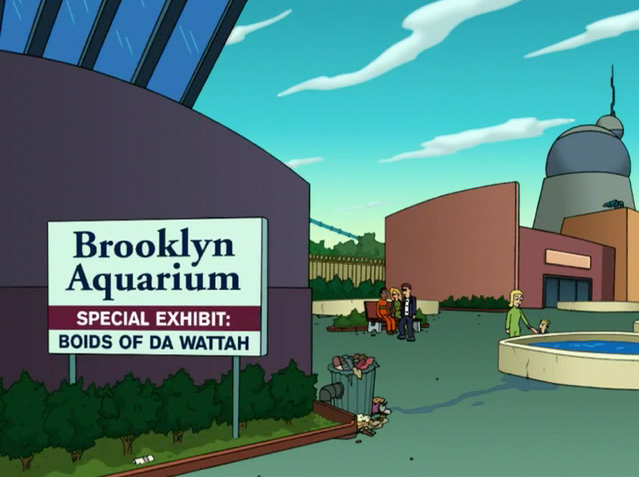 Brooklyn 639 477 Futurama Pinterest