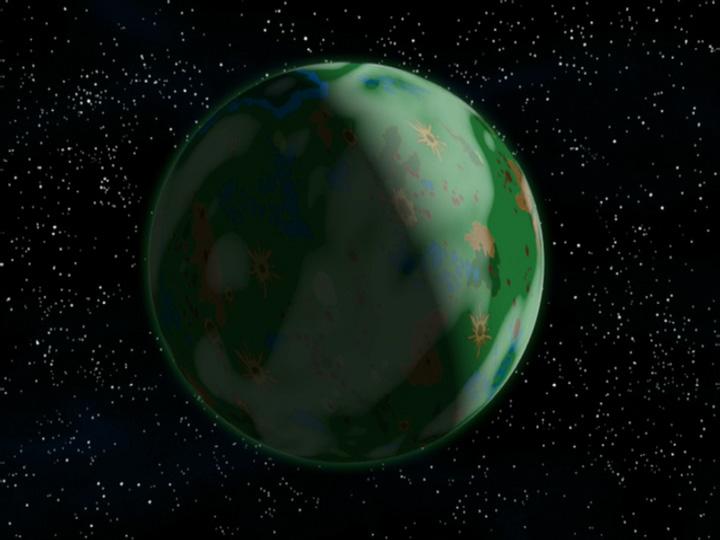 File Planet Amazonia Jpg The Infosphere The Futurama Wiki