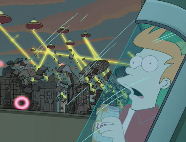 First Destruction of New York City The Infosphere the Futurama Wiki