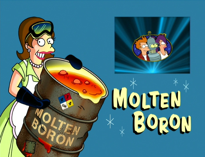 http://theinfosphere.org/images/7/78/Molten_Boron.jpg