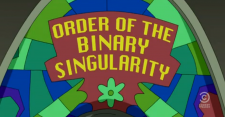 Order of the Binary Singularity