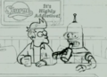 Space Pilot 3000 Animatic Fry and Bender.png