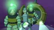 Futurama Assie Come Home Leela, Bender and Fry Underwater.jpg