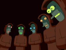 """""""Silenton! Estas la tempo por ekzekuti la Homojn!"""""""