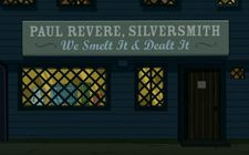 Futurama All the Presidents' Heads Paul Revere, Silversmith.jpg
