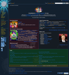 The Infosphere front page as of 8 May, 2011.png