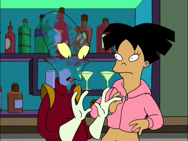 leela and fry relationship test