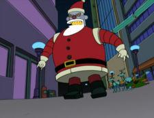 Futurama Christmas Episodes.Robot Santa Claus The Infosphere The Futurama Wiki