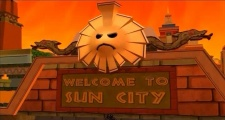 Futurama the Game Sun City Entrance Sign.jpg