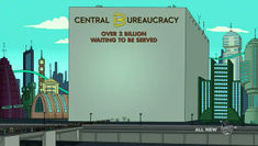 Central Bureaucracy The Infosphere The Futurama Wiki