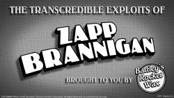 the transcredible exploits of zapp brannigan the