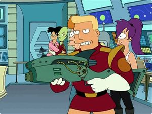Handheld laser cannon - The Infosphere, the Futurama Wiki