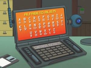 Alien languages - The Infosphere, the Futurama Wiki