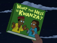 What The Hell Is Kwanza The Infosphere The Futurama Wiki